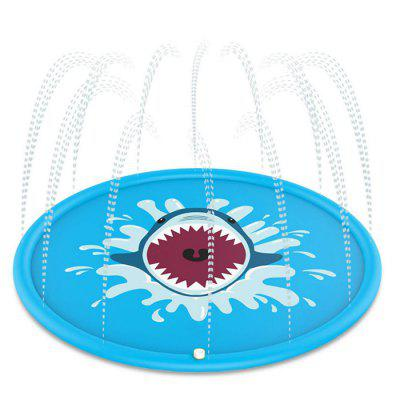 PVC Outdoor Shark Spray Pad
