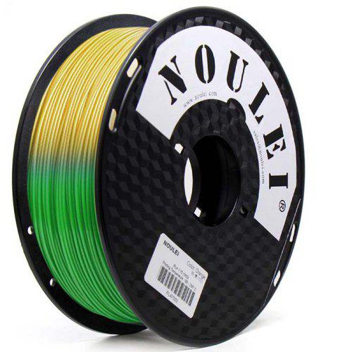 Noulei 3D Printer PLA Filament Temperature Color Changing 1 75mm
