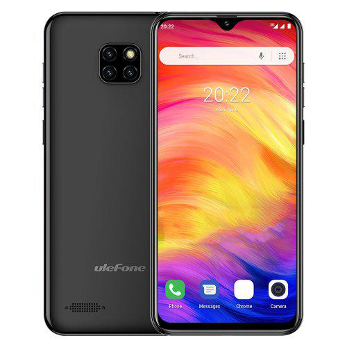Ulefone Note 7 3G Phablet – Graphite Black EU Version 445538301 1GB RAM 16GB ROM 5.0MP Front Camera