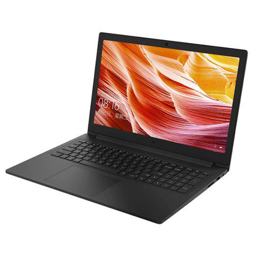 Gearbest Xiaomi Mi Ruby 2019 Laptop Notebook - Dark Gray 8GB RAM 512GB SSD 15.6 inch Windows 10 OS Intel Core i5 - 8250U 1.0 Camera Fingerprint Sensor