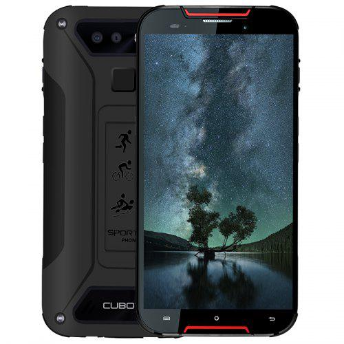 Gearbest Cubot Quest Lite 5.0 inch 4G Quad Core Sports Phablet Rugged Smartphone - Red with Quad Core CPU / Gorilla Glass 5 / 3GB + 32GB / Android 9.0 / Fingerprint Sensor / Face ID / IP68 Waterproof