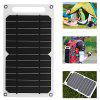 IP063 Portable Durable Waterproof Mobile Phone Solar Charging Board - WHITE