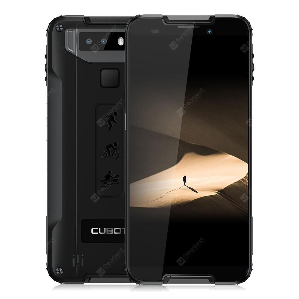 CUBOT Quest 5.5 inch 4G Sports Phablet Rugged Smartphone - Black