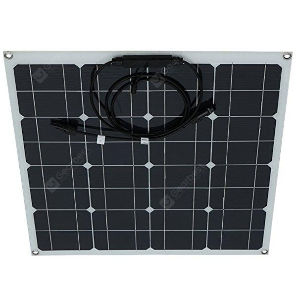 Outdoor Durable Semi-flexible Solar Panel Charger 50W
