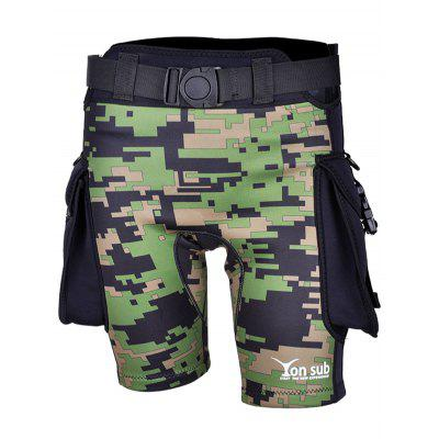 YONSUB YK07 Durable Surfing Pocket Diving Shorts
