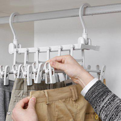 Dual-use Hanger Multi-functional Drying Rack