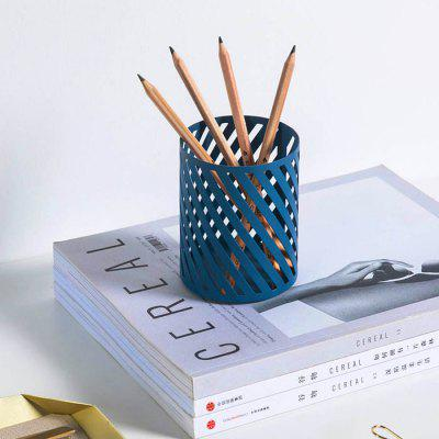 Brief Wrought Iron Twill Cylinder Pen Holder from Xiaomi youpin