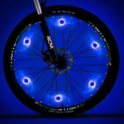 BRELONG TN017 LED Bike Spoke Wheel Light Cyklistika kolo dekorácie