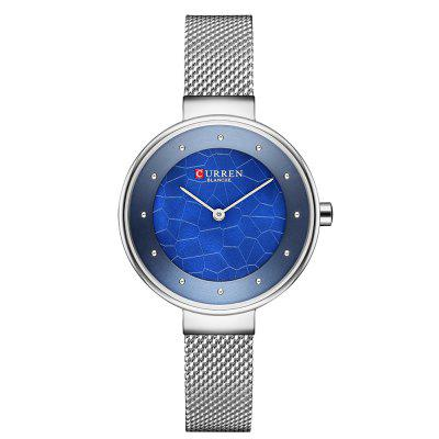 CURREN 9032 Moda Feminina Casual Quartz Watch