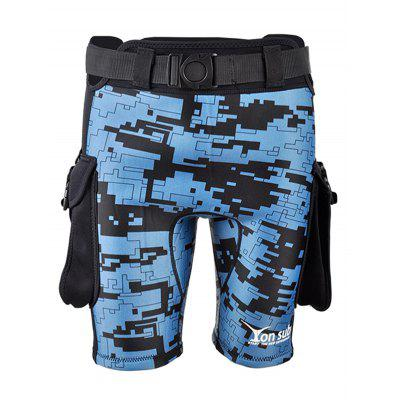 YONSUB YK07 Duurzame Surfing Pocket Duik Shorts