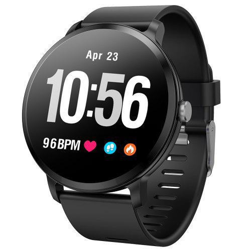 Gearbest Bilikay V11 Waterproof Sports Smart Watch for Android / iOS - Black NRF52832 Chip / IP67 / DaFit APP