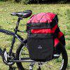 ROSWHEEL 14950 60L MTB Bicycle Bag Back Seat Double Side Bags - RED