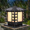BRELONG 0 - 15 Solar Waterproof LED Outdoor Light - BLACK