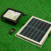 ZS013 Remote Control Split Solar Outdoor Flood Light - BLACK