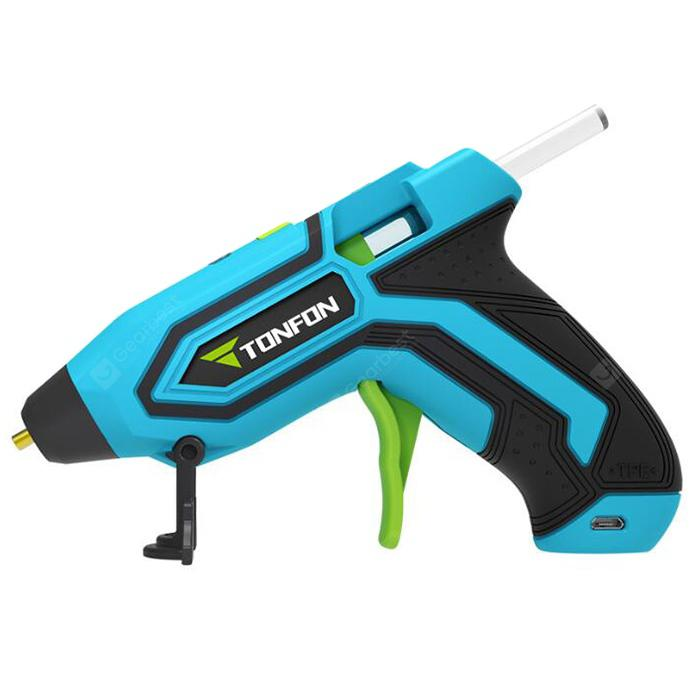TONFON 3003604 Hot Glue Gun 3.6V from Xiaomi youpin - Deep Sky Blue
