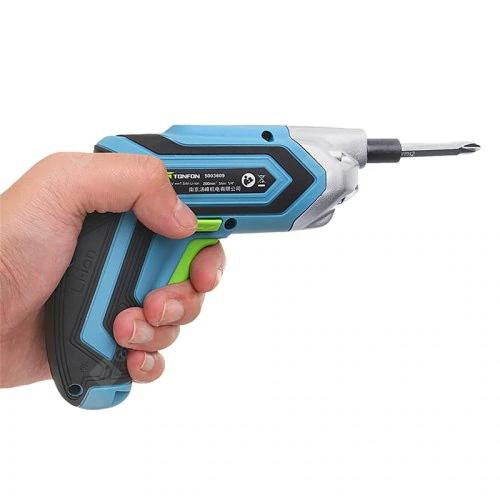 TONFON 3.6V Cordless Electric Screwdriver from Xiaomi youpin - Blue Koi