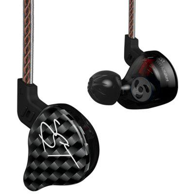 KZ ZST Pro Wired On-Cord Control In-Ear Earphones Built-in Mic