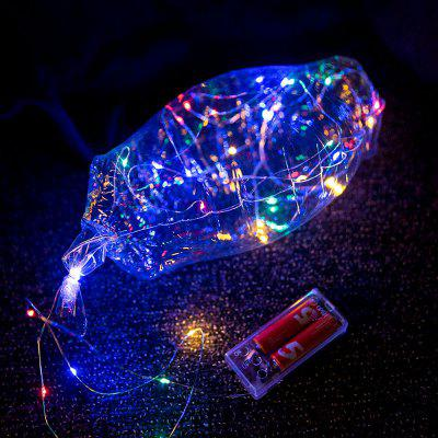 Bobo Balloon LED String Light for Christmas Party Decor