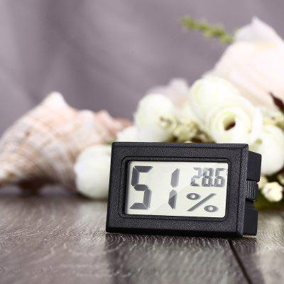 Mini digitale lcd binnenthermometer hygrometer