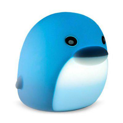 BRELONG DB0004 Colorful Dolphin Night Light