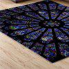Ethnic Style Personality Carpet - DEEP BLUE