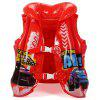 Disney D702007 Children's Life Jacket Inflatable Buoyancy Vest - RED