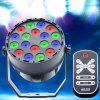 YSH - 701 80 - 230 V RGB Telecomando LED Par Light - NERO