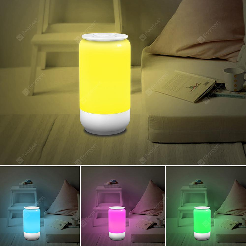 UTORCH B01A WiFi Smart Bedside Light with APP / Voice / Button Control - White