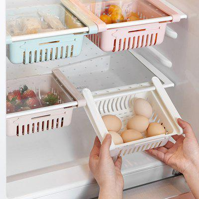 Household Pull-type Refrigerator Storage Basket