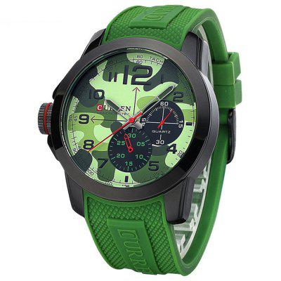 CURREN 8182 - 1 Outdoor Camouflage Military Watch na sport