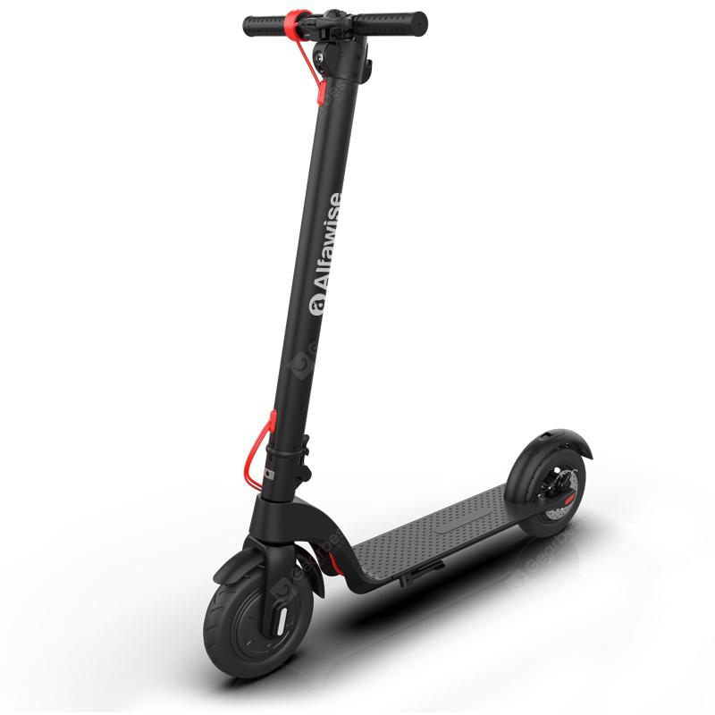 Alfawise X7 Folding Electric Scooter - Black