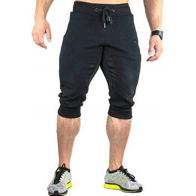 Men's Loose Cropped Pants for Running