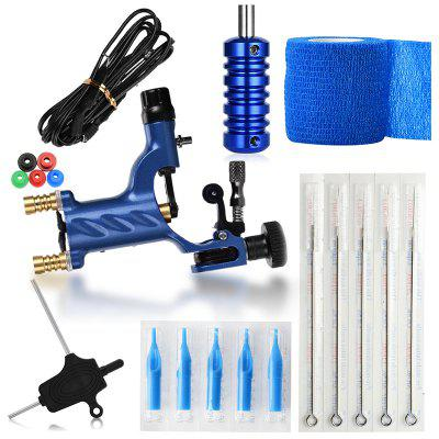 ATOMUS WSTZ001004 Blue Tattoo Machine Kit Exercício
