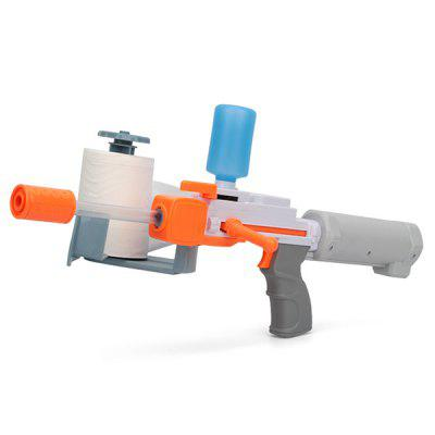 Detachable Creative Water Injection Paper Gun Launcher Toy