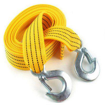 Car Tow Rope Strap with Hooks 3m