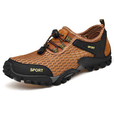 Men's Summer Mesh Hiking Shoes Breathable