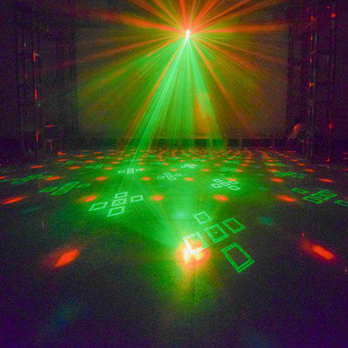 YSH LED Stage Light Sound Control Colorful Lamp