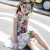 CB - 1741 Girls Stand Collar Chinese Style Dress - APRICOT