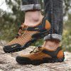 Men's Summer Mesh Hiking Shoes Breathable - BROWN