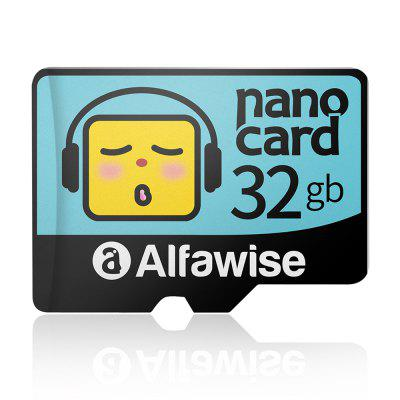Alfawise Cartoon Face High Speed 32GB Memory Micro SD TF Card - Multi 32G