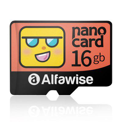 Alfawise Cartoon Face High Speed 16GB Memory Micro SD TF Card
