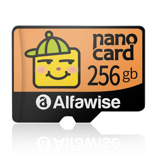 Alfawise High Speed ​​High Capacity Waterproof Micro SD Card - Multi 256G