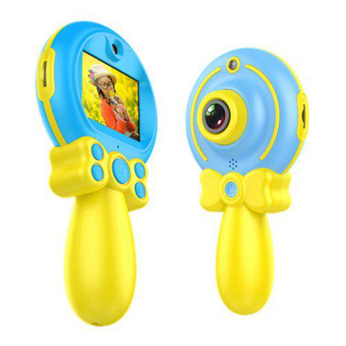 X9 Childrens Camera with Cartoon Protective Cover 2.0 Inch HD Portable Digital Dual Camera Best Toys Gift for Kids Boys or Girls