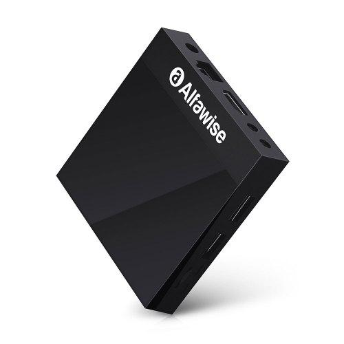 סטרימר אלפאוויז איכותי - Alfawise A9 4K Amlogic S905 Android 8.1 Smart Internet TV Box Mediabox