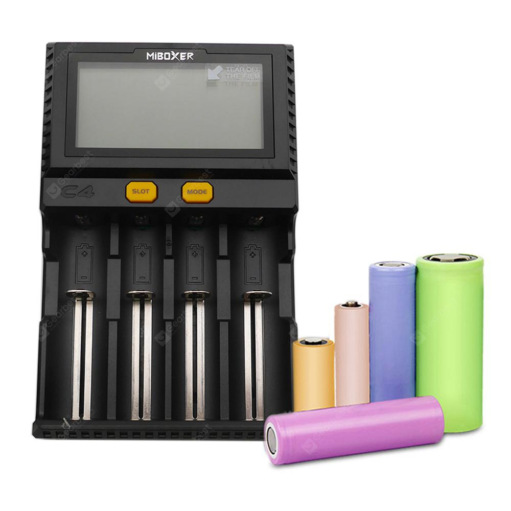 Miboxer C4 LCD Screen Smart Battery Charger