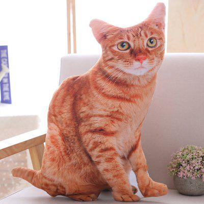 Simulation Cat Plush Pillow Toy