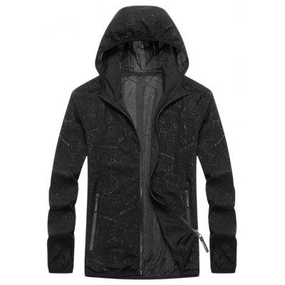 Men's Outdoor Sun Protection Jacket Thin Breathable