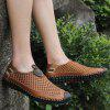 Men's Summer Large Size Breathable Mesh Shoes - BROWN