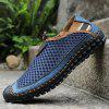 Men's Summer Large Size Breathable Mesh Shoes - MIDNIGHT BLUE