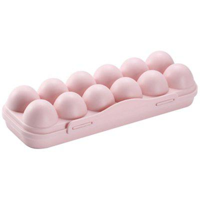 Foldable with Lid Egg Storage Box